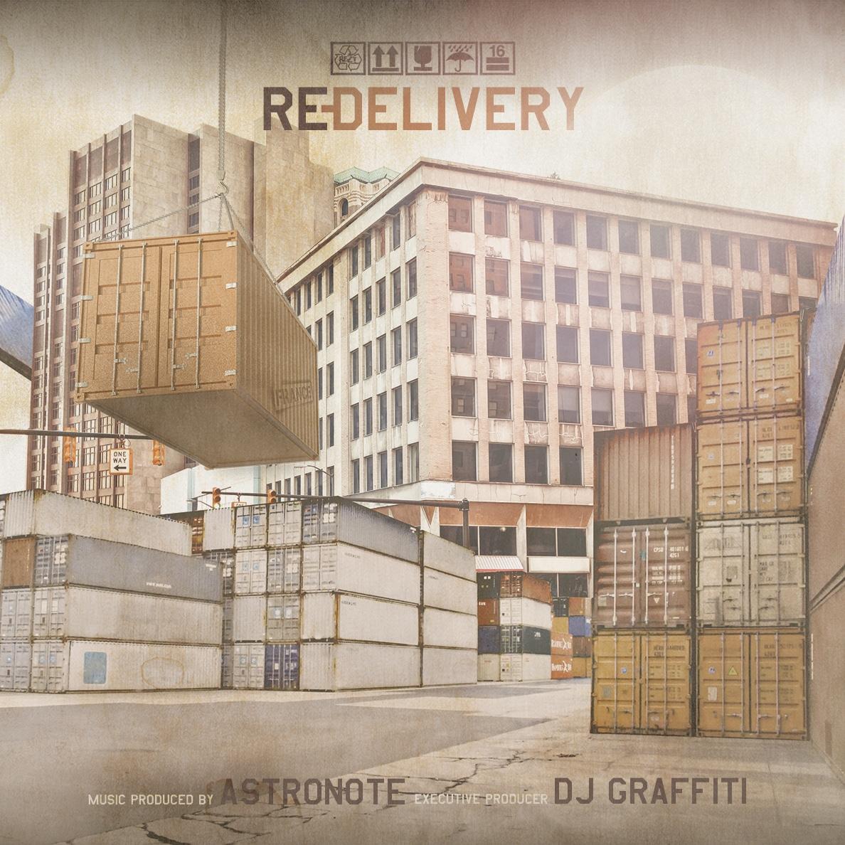 Astronote & DJ Graffiti present Re-Delivery
