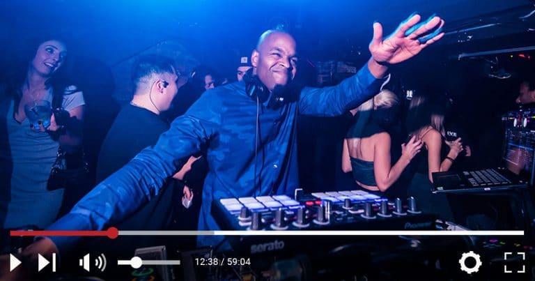 DJ Graffiti at nightclub event